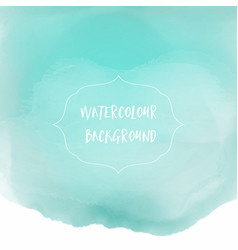 Watercolour wash background vector
