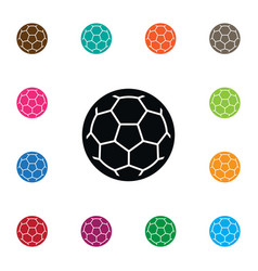Isolated football icon ball element can be vector