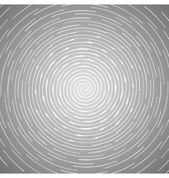 Abstract spiral design pattern Circular rotating vector image