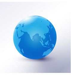 globe icon business logo on white background vector image