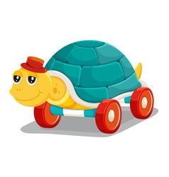 toy tortoise vector image vector image