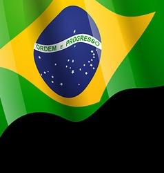 brazil flag design vector image