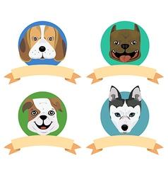 Dog tag2 vector