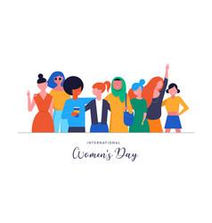 International women s day vector