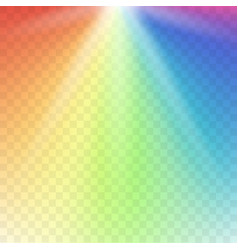 rainbow lights gradient spectrum vector image