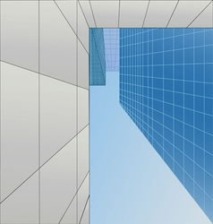 Skyscrapers of the city vector