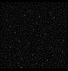 Stars night sky vector