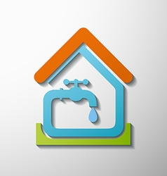 tap water Stock vector image