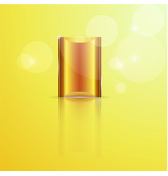 old gold background vector image