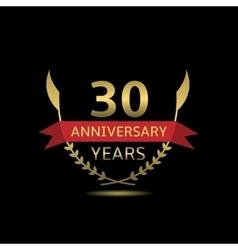 30 Anniversary years vector image vector image