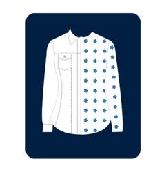 Womens Shirt vector image