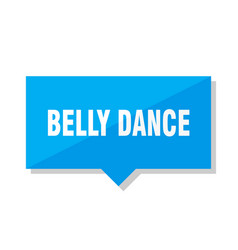 Belly dance price tag vector