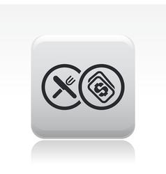 food buy icon vector image