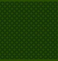 happy st patrick day seamless background vector image