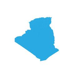 map of algeria high detailed map -algeria vector image
