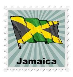 national day of Jamaica vector image