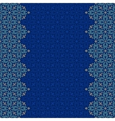 Seamless border pattern oriental ornament vector