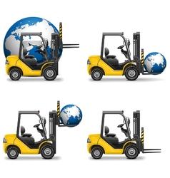 Shipment Icons Set 19 vector image