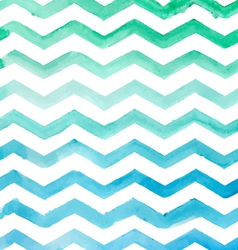 Watercolor blue striped pattern texture sketch vector image vector image