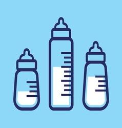 baby bocice lienar3 vector image