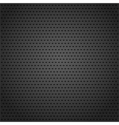 Black Metal Background vector image vector image