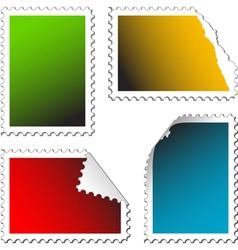 Empty stamps vector