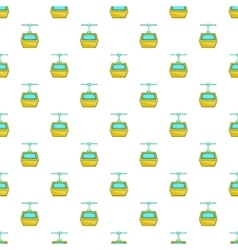 Funicular pattern cartoon style vector