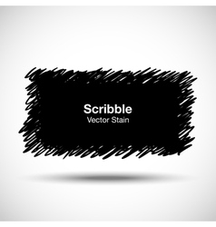 Hand Drawn Scribble Shape vector