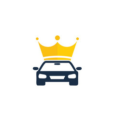 king automotive logo icon design vector image