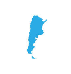 Map of argentina high detailed map - argentina vector