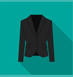 men blazer or jacket or suit symbol vector image