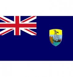 Saint Helena flag vector