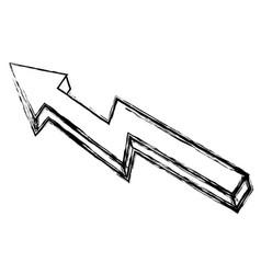 financial arrow growth progress success image vector image vector image
