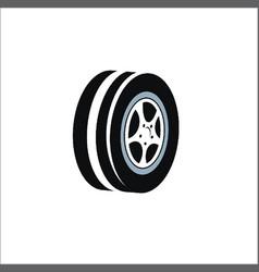 tire logo vector image vector image