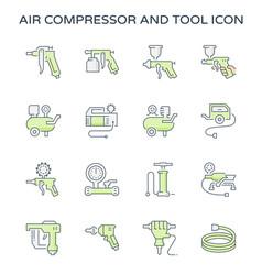 air compressor icon vector image