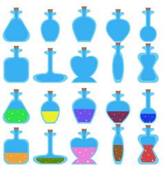 bottles-1 vector image