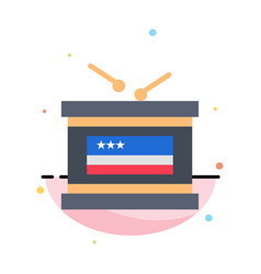 drum holiday independence independence day vector image