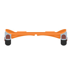hoverboard isolated roller scooter vector image