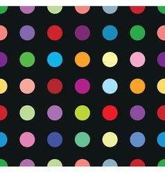 polkadots vector image