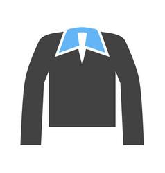 Polo shirt icon vector