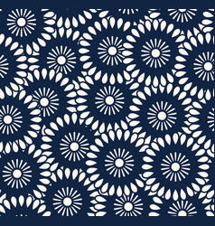 seamless pattern in bali batik style vector image