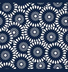Seamless pattern in bali batik style vector