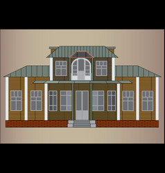 Summer residence vector