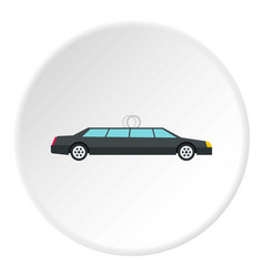 wedding car icon circle vector image