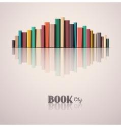 Book City vector image