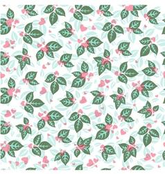 Vintage Valentine Pattern vector image vector image