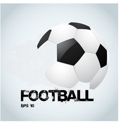 football text football white background ima vector image vector image
