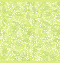 green leaf spring wallpaper elegant fresh foliage vector image vector image