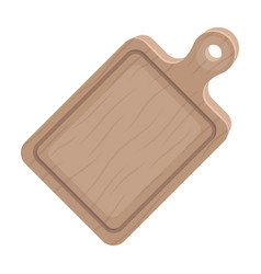 cutting boardbbq single icon in cartoon style vector image