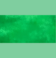 Abstract background watercolor in green color vector